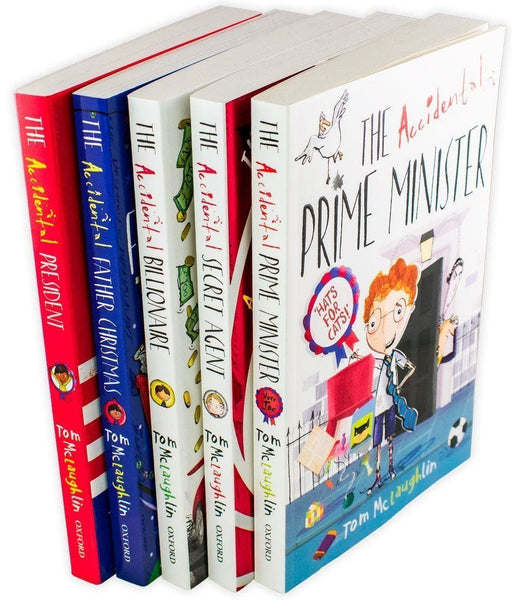 Accidental Series 5 Book Collection - Ages 5-7 - Paperback - Tom McLaughlin - Books2Door