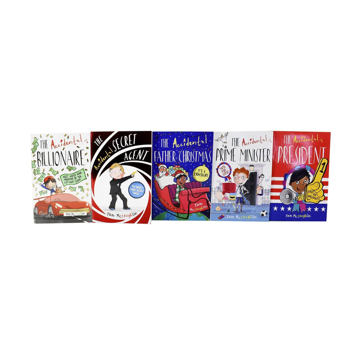 5-7 - Accidental Series 5 Book Collection - Ages 5-7 - Paperback - Tom McLaughlin
