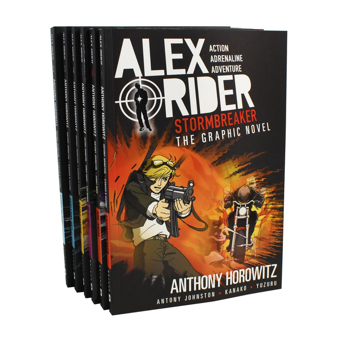 5-7 - Alex Rider The Graphic Novel Collection 6 Books Box Set - Ages 5-7 - Anthony Horowitz - NEW