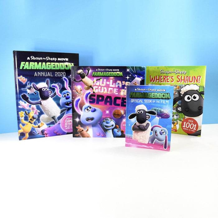 5-7 - An Official Shaun The Sheep Movie Farmageddon 4 Books Collection - Ages 5-7 - Mixed Format - Sweet Cherry Publishing