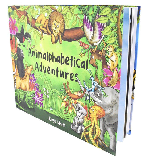 5-7 - Animalphabetical Adventures Children Book Language Learning Tool For Pre-schoolers- Ages 5-7 - Hardback By Kinga White