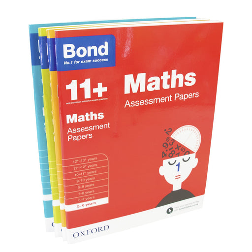 5-7 - Bond 11+ Assessment Papers English Maths Verbal Reasoning For Age 5 - 6 Years