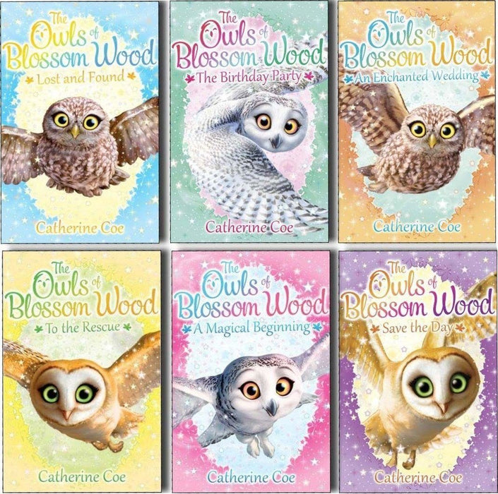 Catherine Coe 6 Books Collection The Owls of Blossom Wood - Ages 5-7 - Paperback - Books2Door
