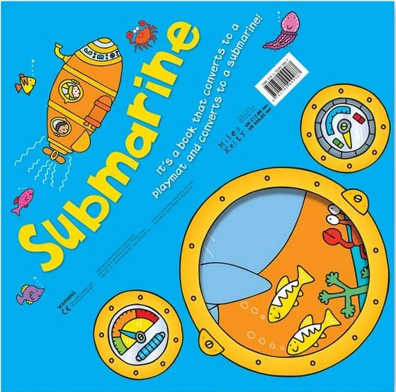 Convertible Submarine - Ages 5-7 - Paperback - Claire Philip - Books2Door