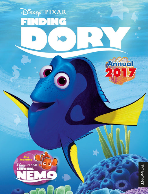 5-7 - Disney Finding Dory Annual 2017 (Egmont Annuals) Hardcover - Age 5-7