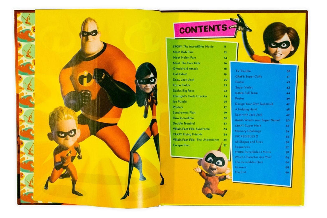 Disney Pixar The Incredibles Annual 2019 - Ages 5-7 - Hardback - Books2Door