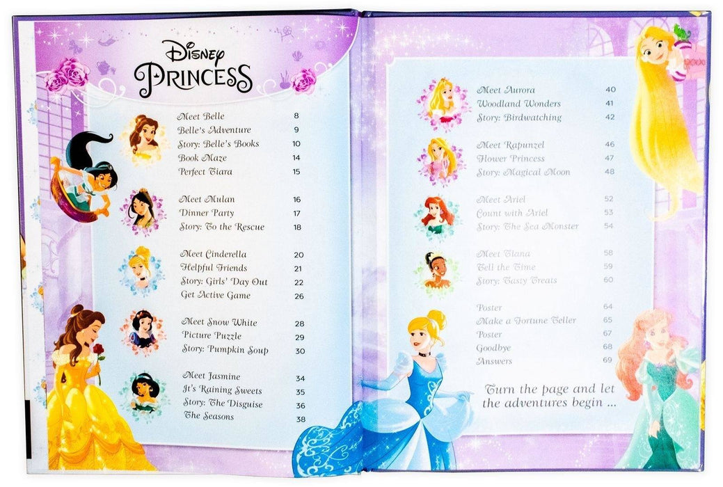 Disney Princess Annual 2019 - Ages 5-7 - Hardback - Egmont - Books2Door