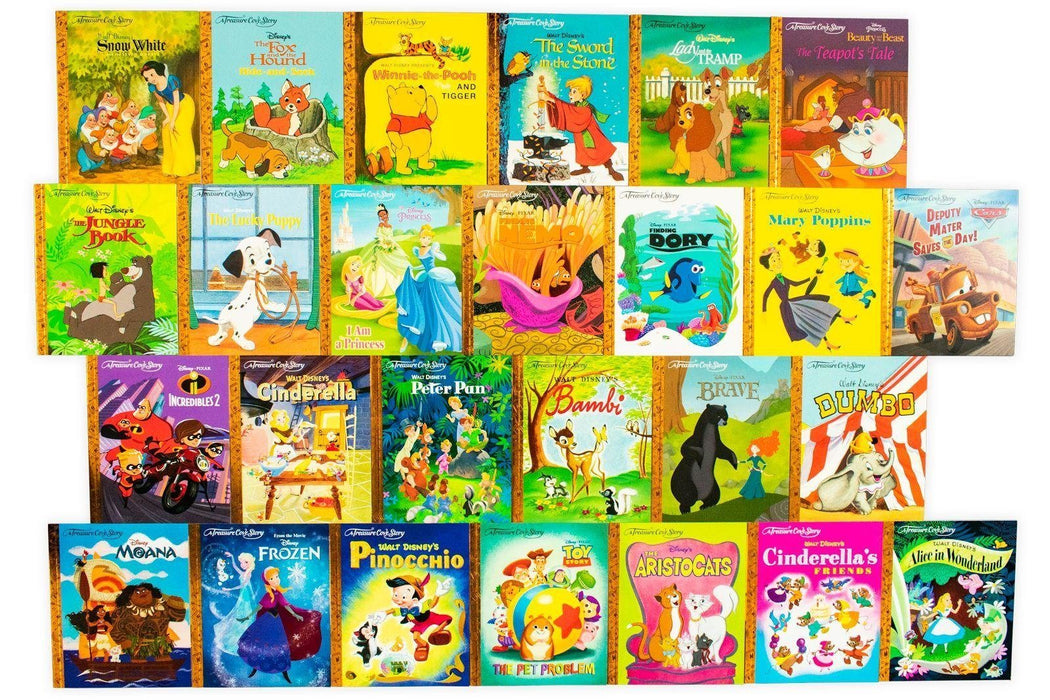 Disney Treasure Cove 26 Story Book Collection 5-7 Centum Books Ltd