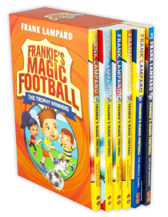 Frankie's Magic Football: The Trophy Winners 6 Book Collection - Ages 5-7 - Paperback - Frank Lampard - Books2Door
