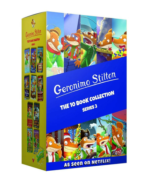 Geronimo Stilton 10 Book Collection (Series 3) - Ages 5-7 - Paperback Boxset - Books2Door