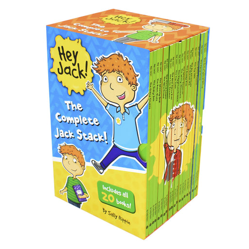5-7 - Hey Jack The Complete Jack Stack Early Reader 20 Books Children Set - Ages 5-7 - Paperback By Sally Rippin