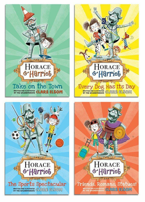 Horace and Harriet 4 Book Collection - Ages 5-7 - Paperback - Clare Elsom - Books2Door