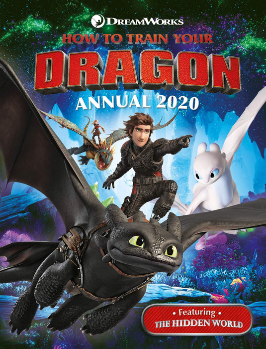 How To Train Your Dragon Annual 2020 - Ages 5-7 - Hardback - Egmont Publishing UK - Books2Door