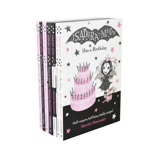 5-7 - Isadora Moon 7 Book Collection - Ages 5-7 - Paperback - Harriet Muncaster