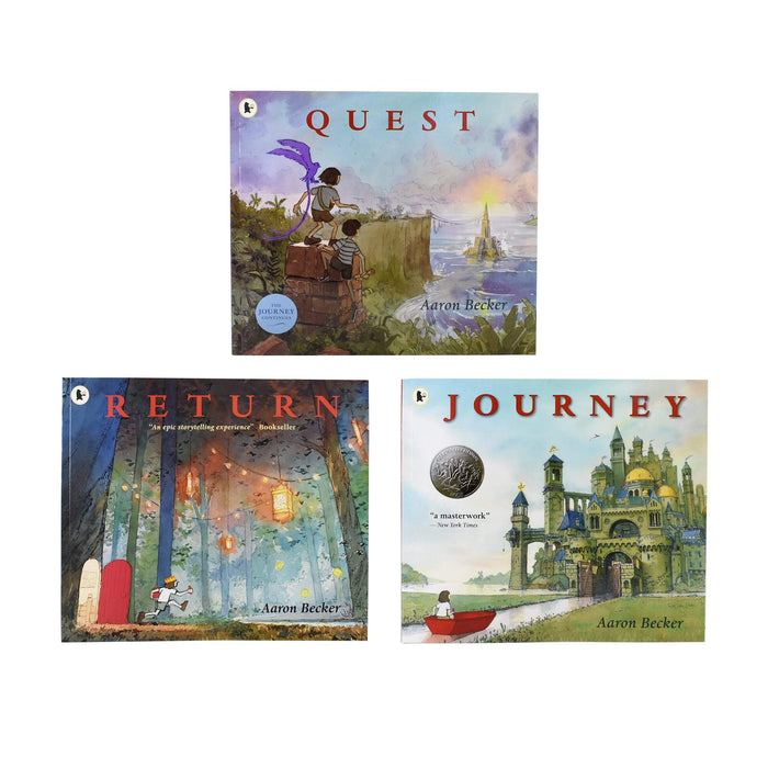 5-7 - Journey Trilogy 3 Books Collection - Age 5-7 - Paperback - Aaron Becker