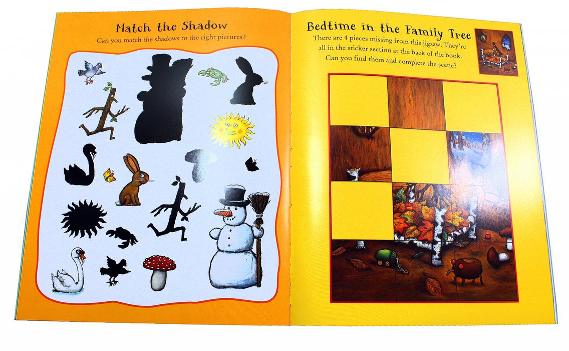Julia Donaldson and Axel Scheffler 4 Activity Books - Ages 5-7 - Paperback - Books2Door