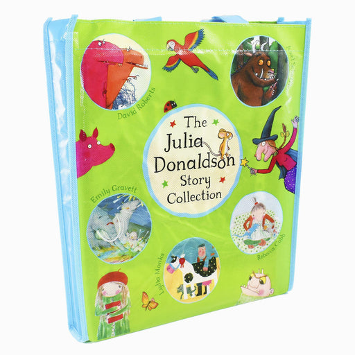 Julia Donaldson Gruffalo 10 Picture Books In a Bag - Ages 5-7 - Paperback - Books2Door