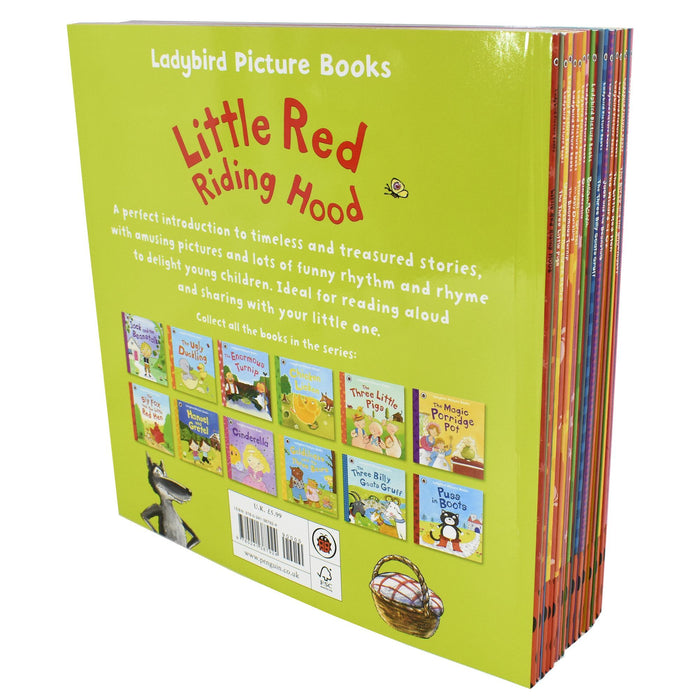 5-7 - Ladybird 16 Picture Book Collection - Ages 5-7 - Paperback Set