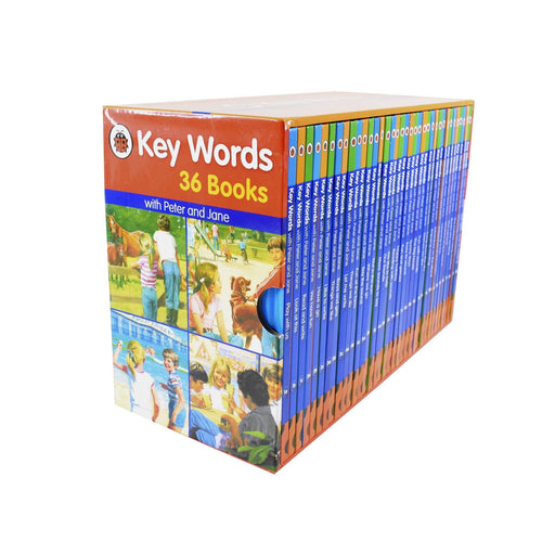 5-7 - Ladybird Keywords 36 Books - Ages 7-9 - Hardback