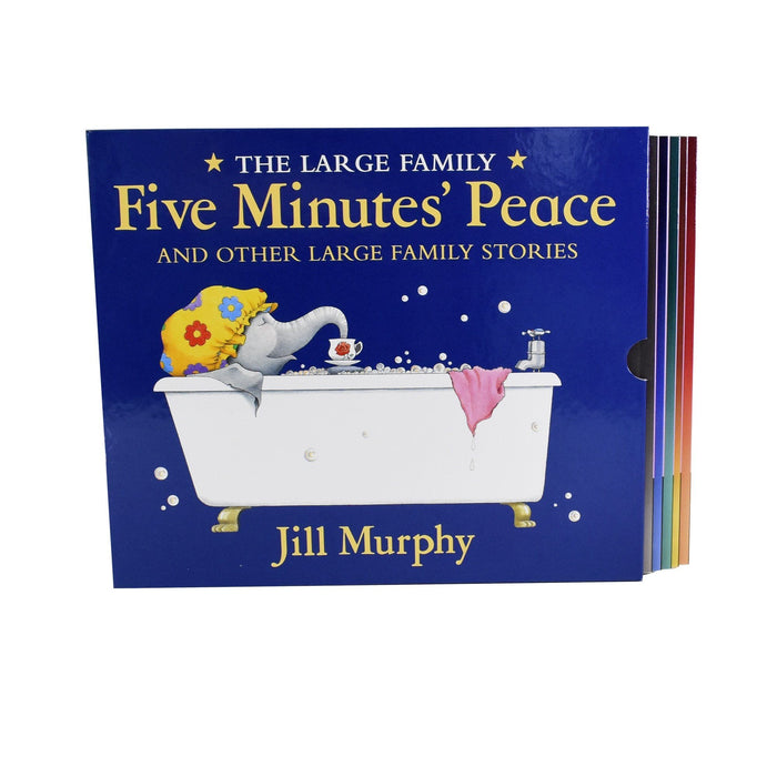 5-7 - Large Family 5 Books Box Set - Ages 5-7 - Paperback -Jill Murphy