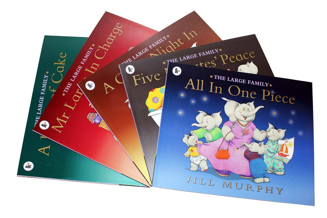 Large Family Collection Jill Murphy 5 Books Set - Picture Books - Paperback - Jill Murphy - Books2Door