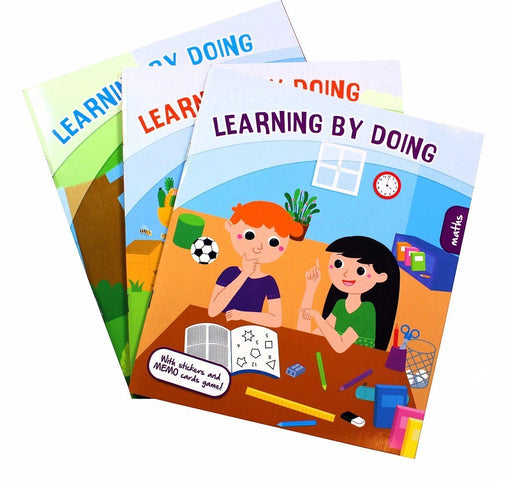 Learning By Doing 3 Book Set - Ages 5-7 - Paperback - Kids Concepts 5-7 Kids Concepts