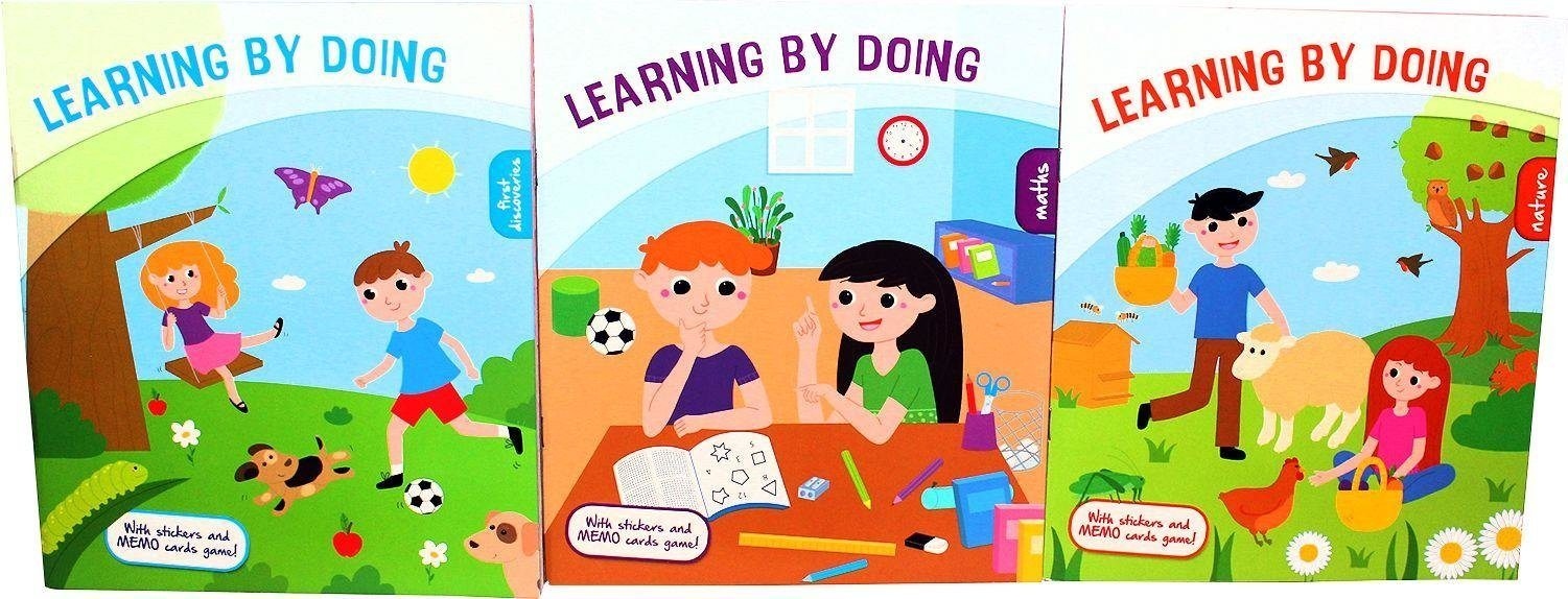 Learning By Doing 3 Book Set - Ages 5-7 - Paperback - Kids Concepts - Books2Door