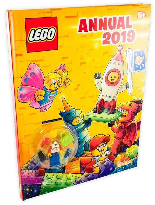 Lego Annual 2019 - Ages 5-7 - Hardback - Books2Door