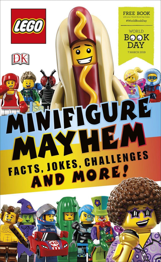 LEGO Minifigure Mayhem WBD 2019 - Ages 5-7 - Paperback - Dorling Kindersley - Books2Door