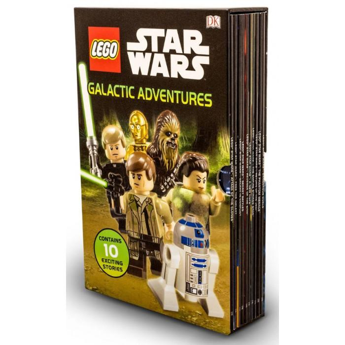 5-7 - LEGO Star Wars: Galactic Adventures 10 Books Box Set -Paperback-Age 5-7