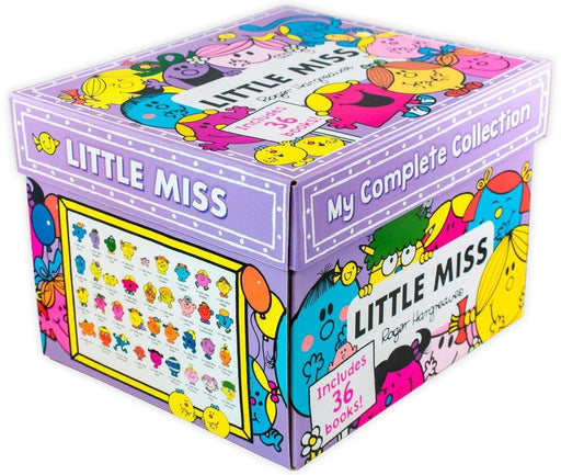 Little Miss 36 Book Collection - Ages 5-7 - Paperback - Roger Hargreaves - Books2Door