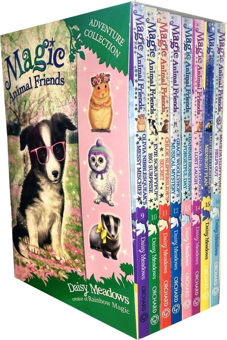 Magic Animal Friends Series 3 and 4 Collection 8 Books Box Set - Ages 5-7 - Paperback - Daisy Meadows - Books2Door