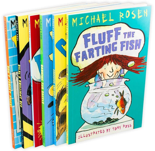 Michael Rosen Funny Stories 6 Book Collection - Books2Door