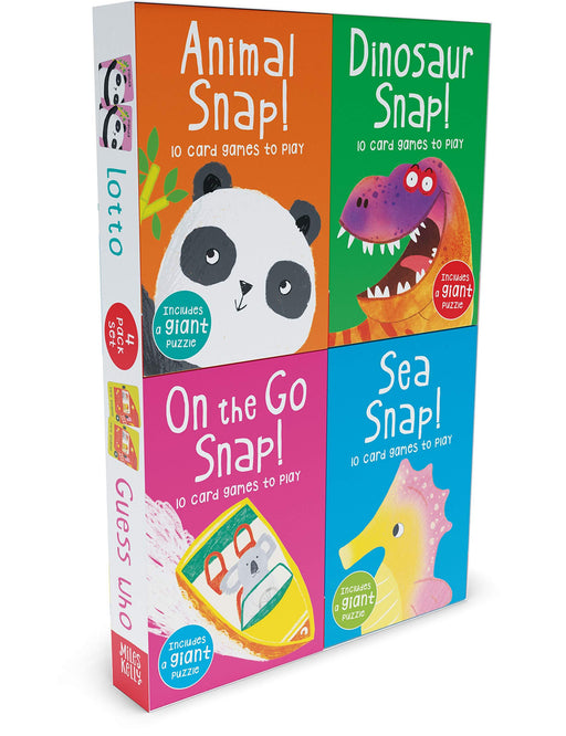 5-7 - Miles Kelly Snap 4 Pack Set - Hardcover By Rosie Neave - Age 3-5