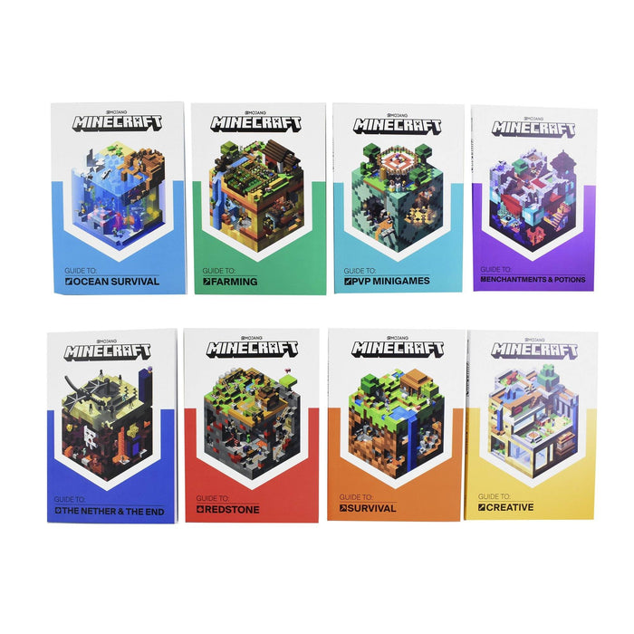 Minecraft Guides Collection 8 Books Set - Ages 5-7 – Paperback – Egmont 5-7 Egmont
