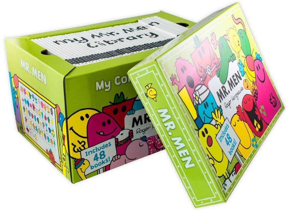 Mr Men My Complete Collection 48 Books Set Collection - Ages 5-7 - Paperback - Roger Hargreaves - Books2Door