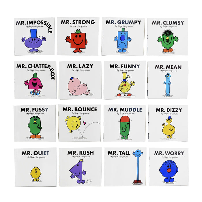 5-7 - Mr Men My Complete Collection 48 Books Set Collection - Ages 5-7 - Paperback - Roger Hargreaves