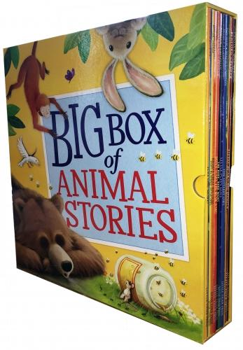 5-7 - My Big Box Of Animal Stories Collection 10 Books Box Gift Set- Paperback - Age 5-7
