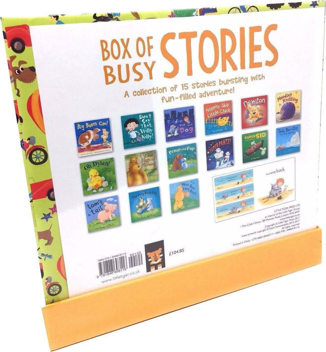 My Big Box of Busy Stories 15 Books Collection - Ages 5-7 - Paperback - Little Tiger Press - Books2Door