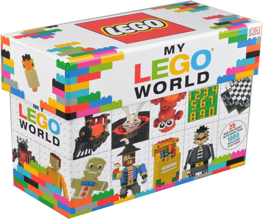 My LEGO World 25 Books Collection Box Set - Ages 5-7 - Paperback - Books2Door