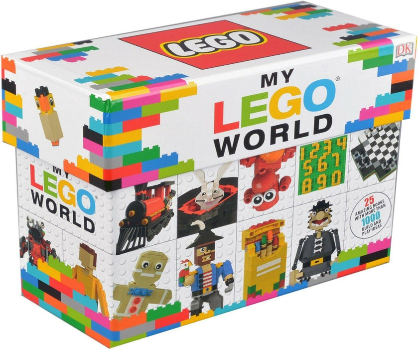 My LEGO World 25 Books Collection Box Set - Ages 5-7 - Paperback 5-7 Lego