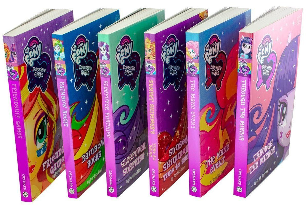 My Little Pony Equestria Girls 6 Books Box Set 5-7 Orchard Books