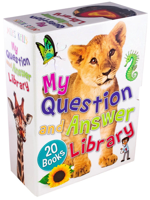 My Questions and Answer Library 20 Books - Ages 5-7 - Paperback - Miles Kelly - Books2Door