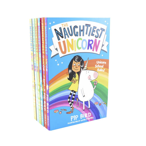5-7 - Naughtiest Unicorn Series 6 Books Children Collection - Ages -5-7 - Paperback Set By Pip Bird