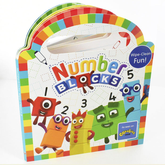 Numberblocks Wipe Clean (Numbers 1-5) - Books2Door