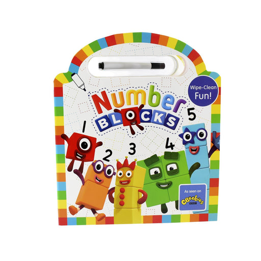 5-7 - Numberblocks Wipe Clean (Numbers 1-5)