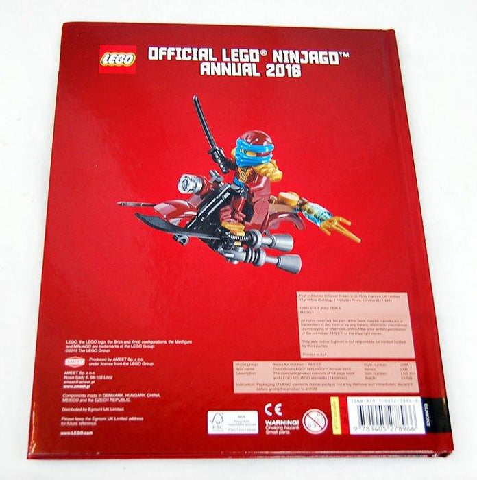 Official LEGO® Ninjago Annual 2016 - Action - Hardback - Egmont Publishing - Books2Door