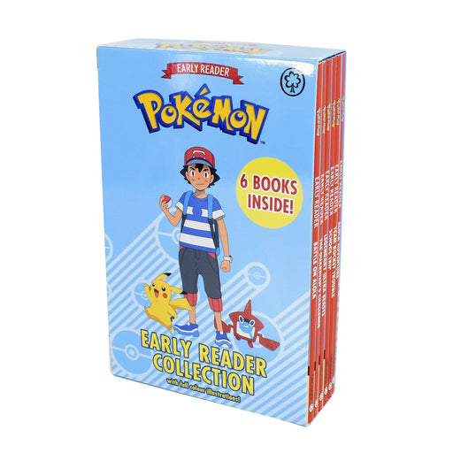 5-7 - Official Pokemon Story Books For Early Reader 6 Books Children Collection Boxset - Paperback - Age 5-7