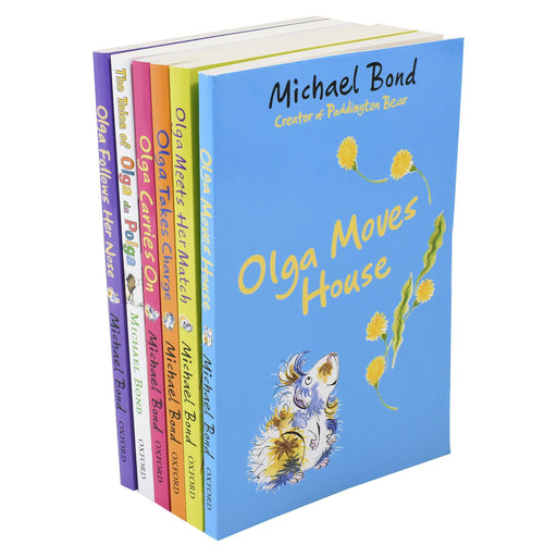 5-7 - Olga Da Polga 6 Books Collection Set - Ages 5-7 - Paperback By Michael Bond