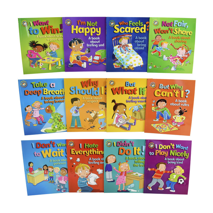 5-7 - Our Emotions And Behaviour 12 Books Children Pack - Ages 5-7 - Paperback - Sue Graves